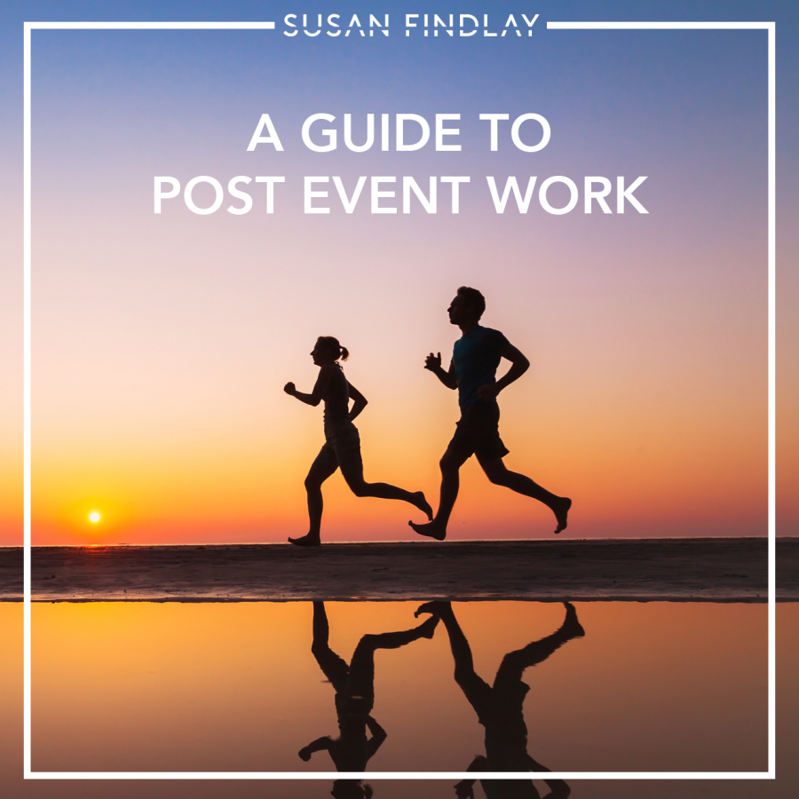 A guide to post event work