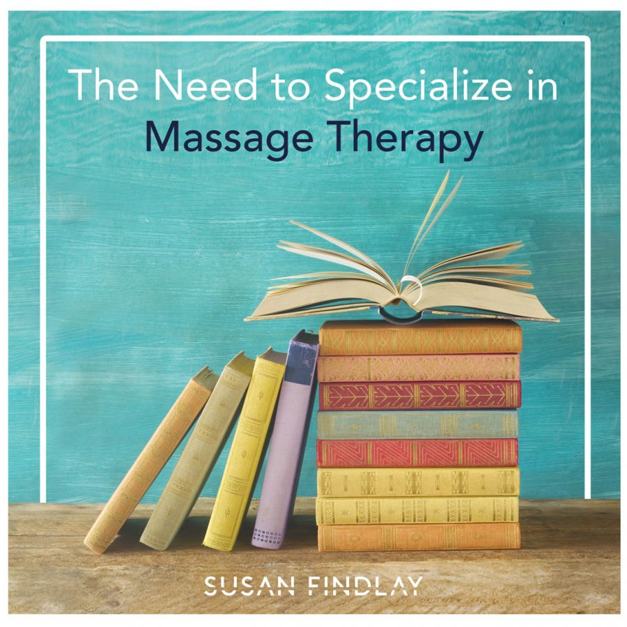The Need to Specialize in Massage Therapy blog ad