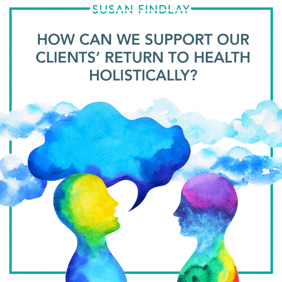 WORKING AS A TEAM - CLIENTS RETURN TO HEALTH copy