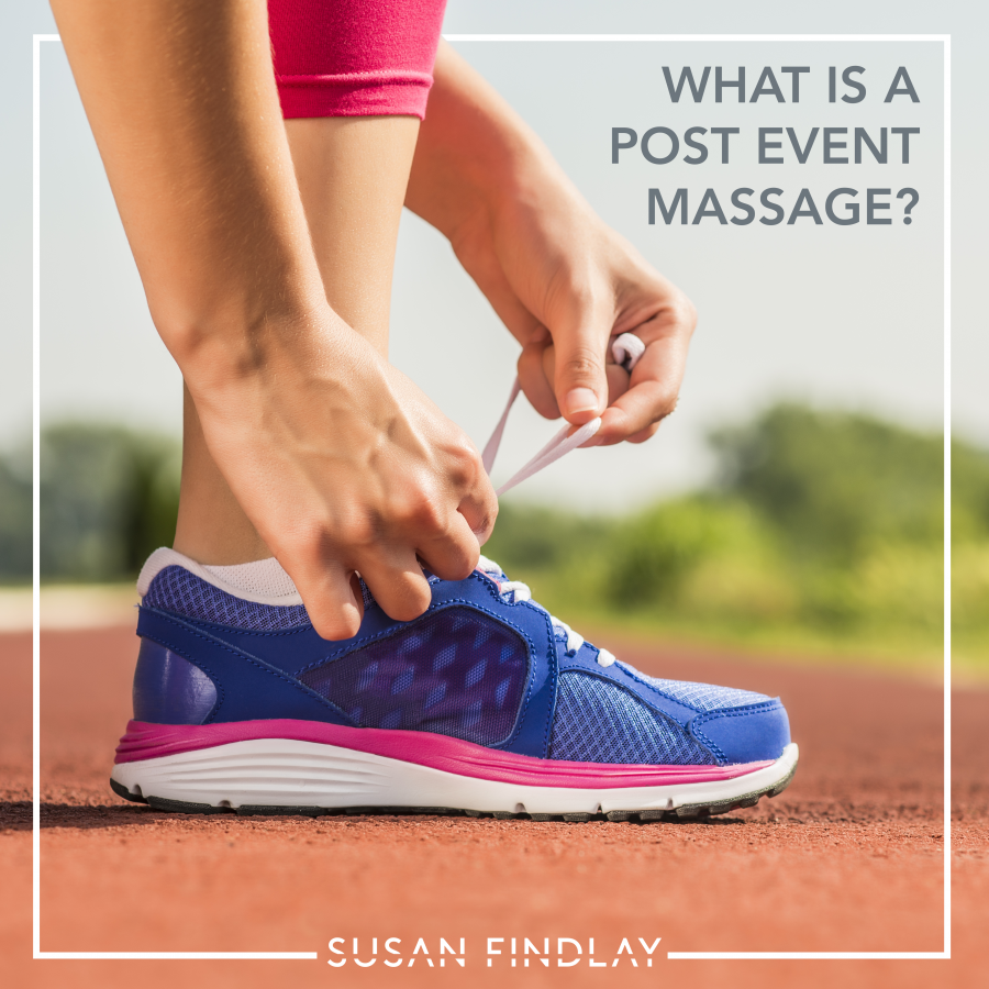 What is a Post Event Massage